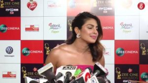 Priyanka Chopra​ talks about her wedding at Zee Cine Awards 2018.