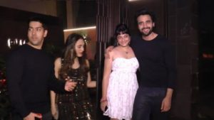 Celebs At Jackky Bhagnani's Birthday Party - Richa Chadha, Sushant Singh, Esha Deol