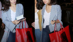 The price of Alia's seemingly casual tote bag at the airport is not-so-ordinary!