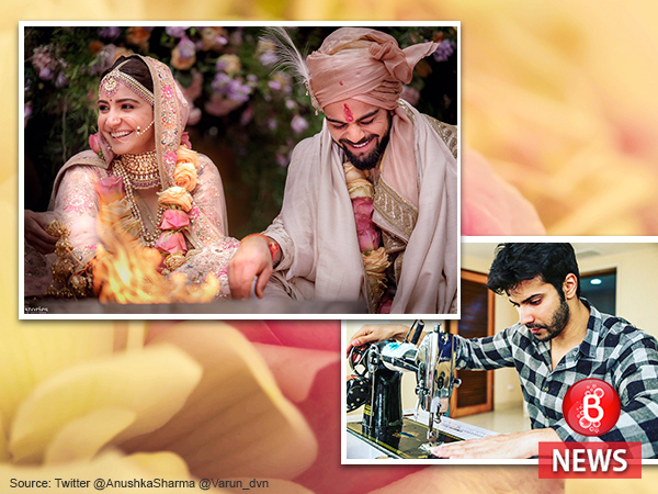 While Anushka gets married, her 'Sui Dhaaga' co-star Varun starts preparing for their film