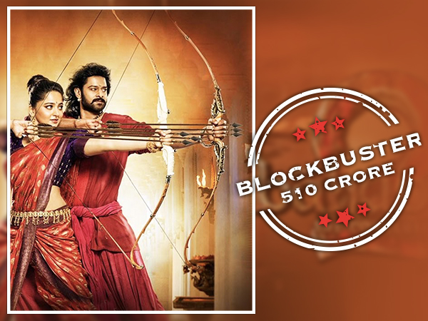 Baahubali 2 - The Conclusion - Rs 510 Crore