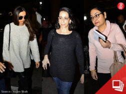 Bollywood celebs at airport