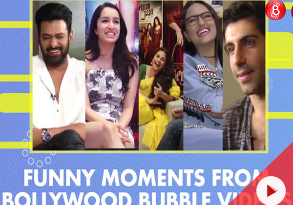 WATCH: When stars laughed their heart out with Bollywood Bubble in 2017