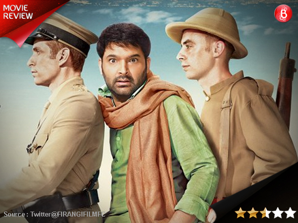 Firangi movie review: Neither too funny nor too patriotic, this one's a drag