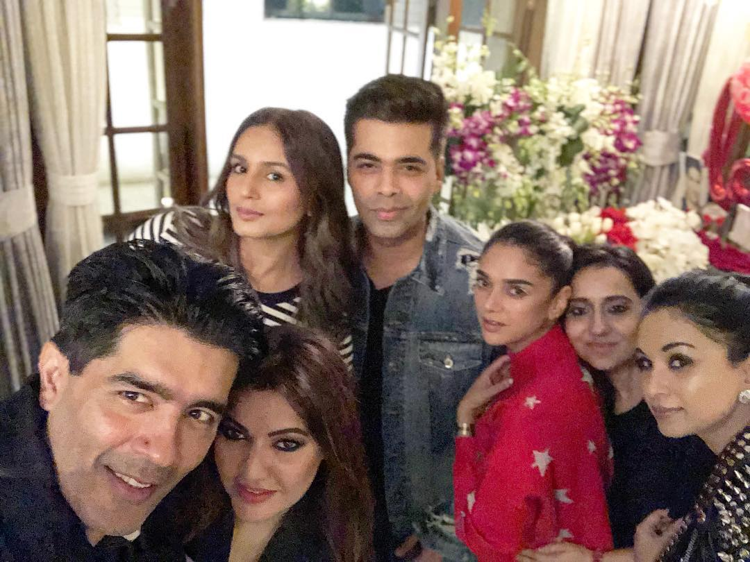 Manish Malhotra, Karan Johar and others