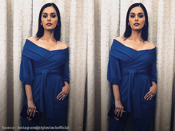 #OOTD: Manushi Chhillar's jumpsuit can be your evening DATE pick