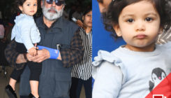 Misha gets clicked with daddu Pankaj Kapur and mom Mira, but her close ups are THE BEST!