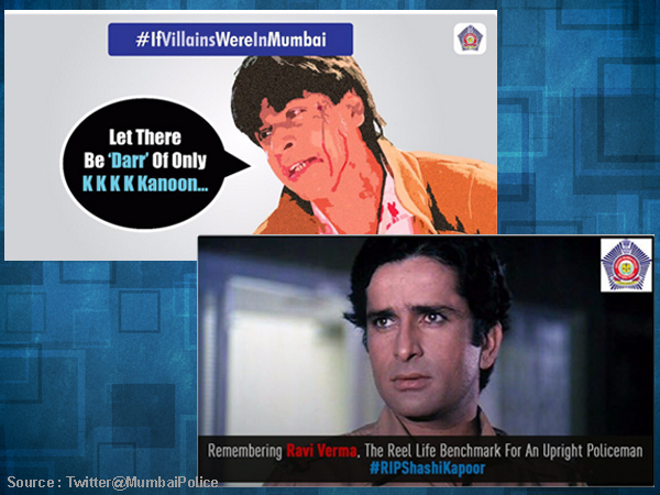 Mumbai Police is Bollywoodised and we have PROOF!