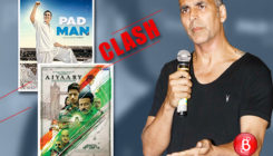 Akshay Kumar opens up on the clash between 'PadMan' and 'Aiyaary'