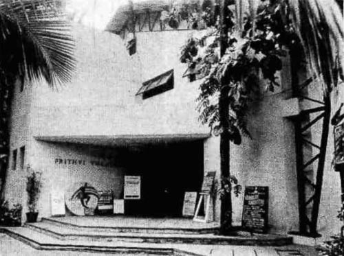 Birth of the Prithvi theatre!