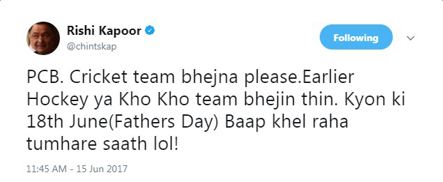 Rishi Kapoor gets trolled