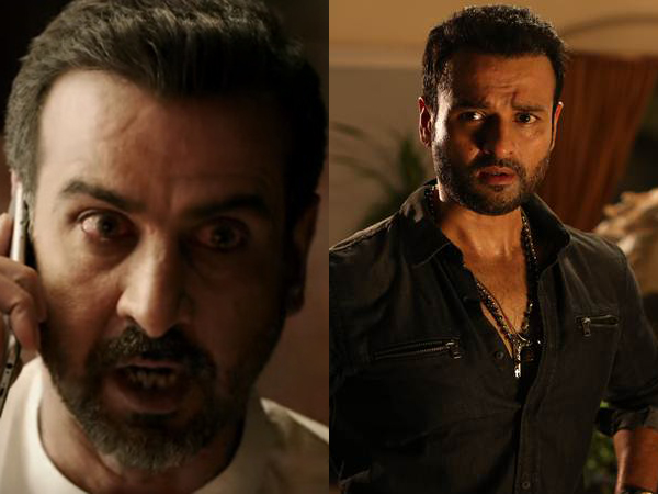 Ronit Roy and Rohit Roy as Shellar Brothers