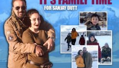 Sanjay spends the best time with family in Kyrgyzstan, in between his shoot