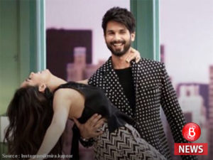 Shahid and Mira in love