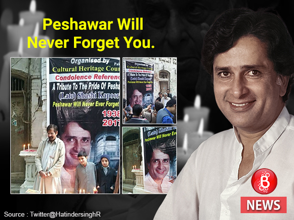 Shashi Kapoor's Pakistani Fans pay him a tribute. VIEW PICS