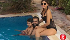 Shilpa Shetty is chilling by the pool with her family at THIS international location!