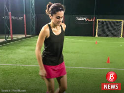 Taapsee Pannu training for Soorma film