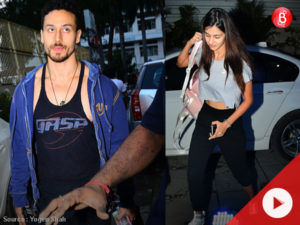 Watch: Rumoured couple Tiger Shroff and Disha Patani go gymming together