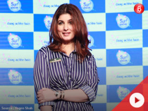 WATCH: Twinkle Khanna avoids a question on 'Padmavati' controversy