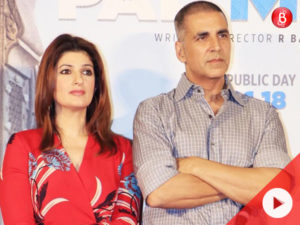 Twinkle Khanna had a funny reply when asked about her big screen comeback