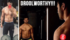 Varun Dhawan looks droolworthy in this shirtless picture of him from the gym