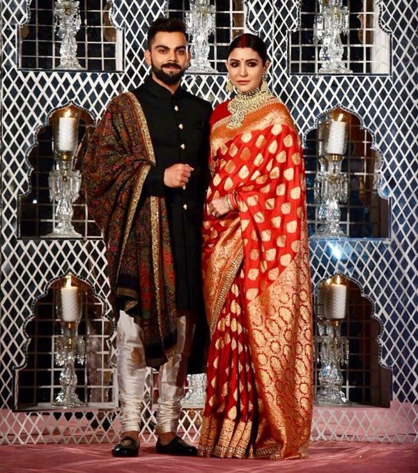 Anushka and Virat's Mumbai reception saw THIS special person in attendance