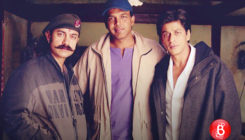 When SRK and Aamir came together once again for Ashutosh Gowariker's film
