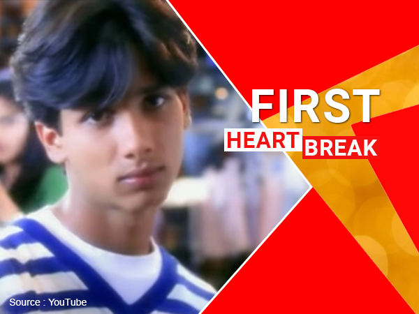 Shahid Kapoor's first heartbreak: Two most painful minutes of his life