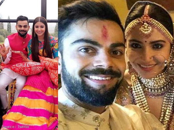 Oh Fresh! Here are the first pictures from Virat Kohli and Anushka Sharma's wedding