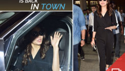 Anushka returns to the bay after attending hubby Virat's 1st test match in SA