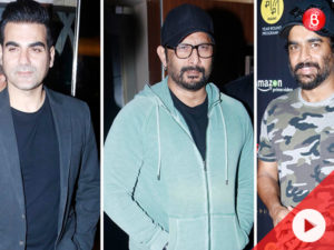 Watch: Madhavan, Arshad, Arbaaz at special screening of 'Breathe'