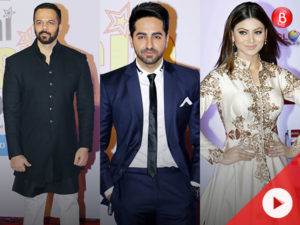WATCH: Ayushmann, Rohit and others at 10th Mirchi Music Awards