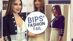 Bipasha Basu's outfit is a BIG no-go, courtesy its abrupt elements!