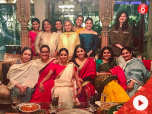 Watch: Jaya Bachchan celebrates women of B-Town with a party at her house