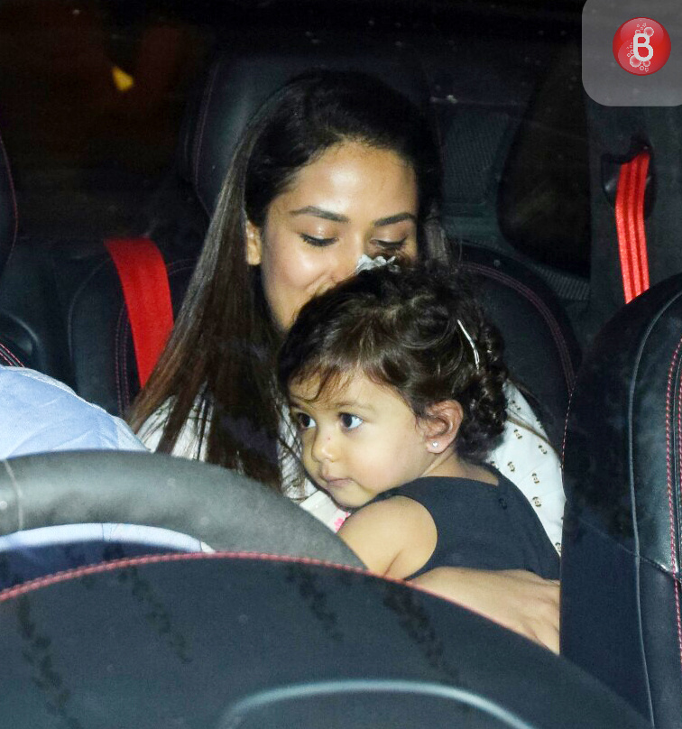 Mira Kapoor with daughter Misha