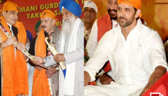 PICS: The Roshans along with actor Jeetendra get honoured by the Sikh Community!