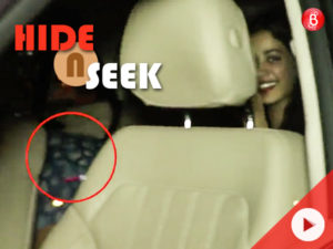 WATCH: Janhvi laughs off at a hiding Ishaan as cameras capture them on a date