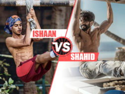 Ishaan and Shahid gym goals
