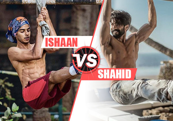 Not just Shahid but brother Ishaan also gives us 2018 GYM GOALS!