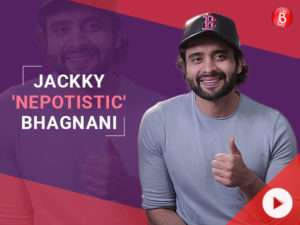 Jackky Bhagnani takes a dig at himself in this video and we are laughing hard!