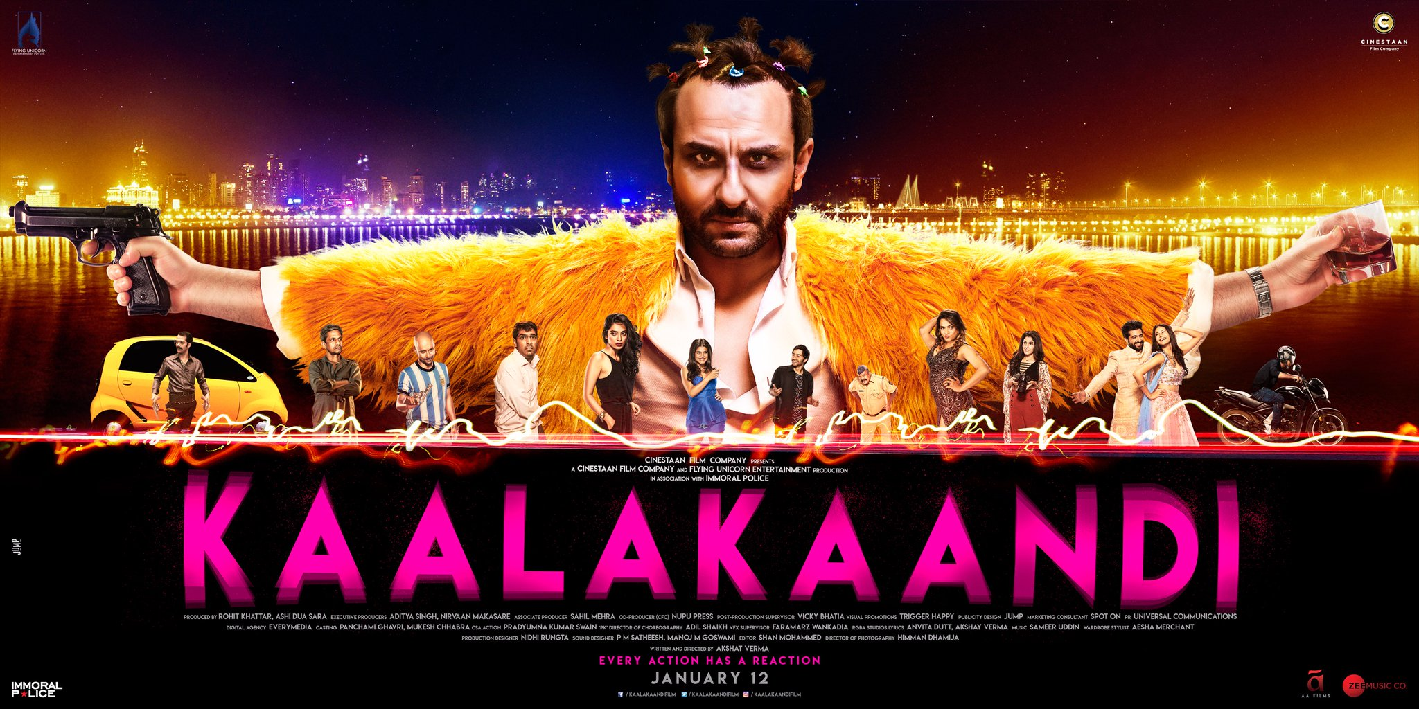 Saif Ali Khan's 'Kaalakaandi' makes Aamir Khan laugh hard!