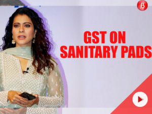 Watch: Kajol lashes out on reporter after being asked about GST on sanitary pads
