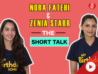 The Short Talk: Nora Fatehi and Zenia Starr speak about their film 'My Birthday Song'