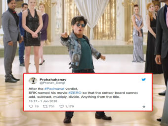 ZERO: Twitteratis reacting to SRK-starrer is a hilarious treat you can't miss!