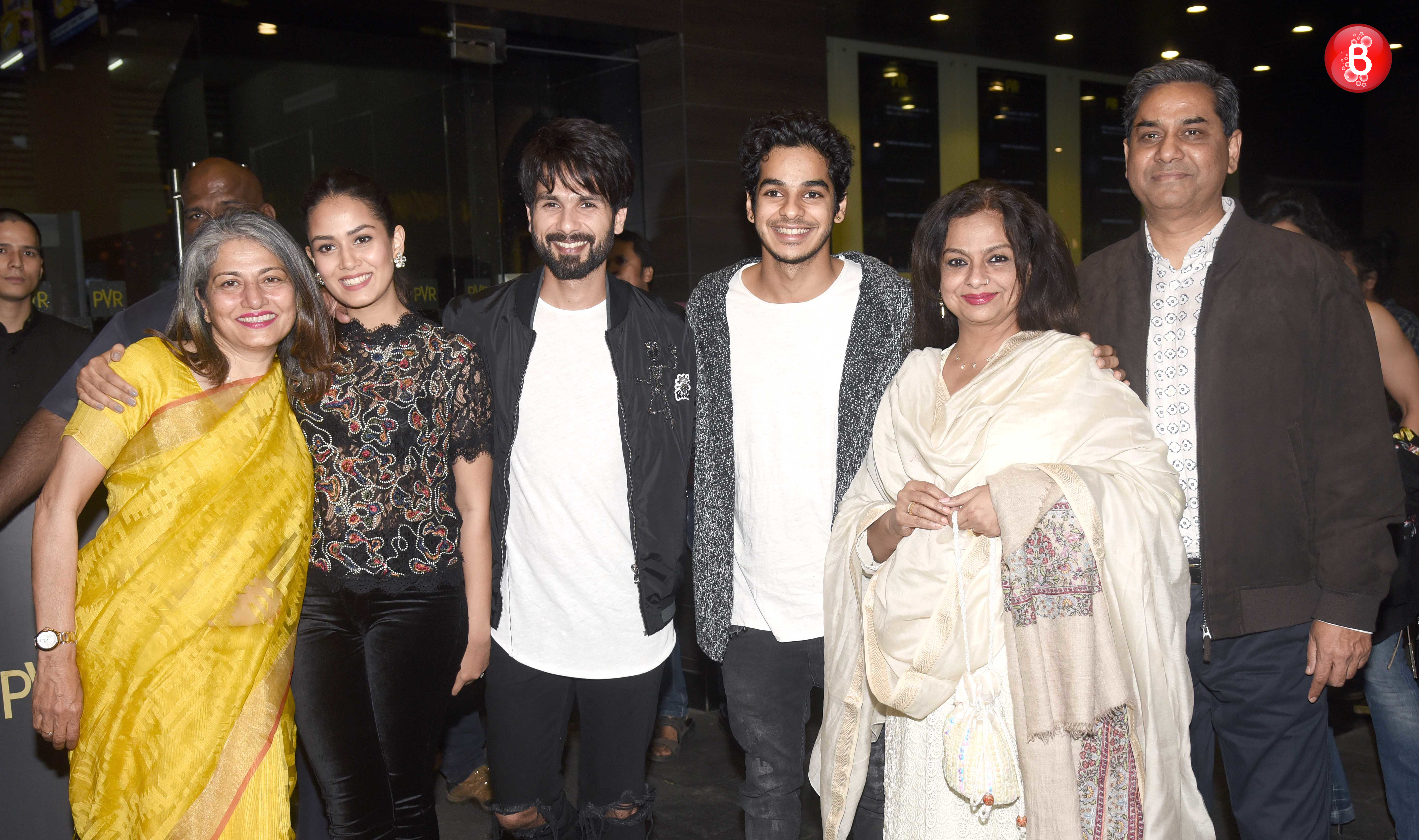 Shahid and Mira with family