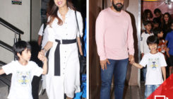 Shilpa Shetty's movie date with family. View Pics!