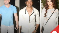 WATCH: Sohail, Tusshar, Sonali at the special screening of 'My Birthday Song'