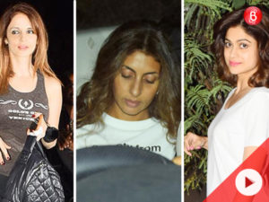 Watch: Sussanne, Shamita and Shweta Nanda visit a salon late in the night