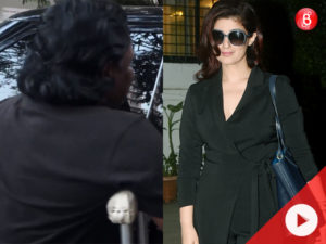 WATCH what happened when Twinkle Khanna came across a beggar on the streets