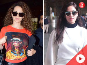 WATCH: Yami Gautam, Kangana Ranaut and others SPOTTED at airport